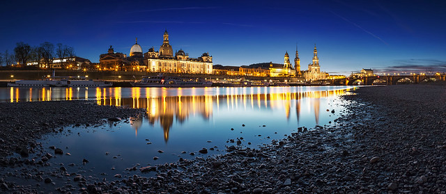 Dresden Skyline Panorama