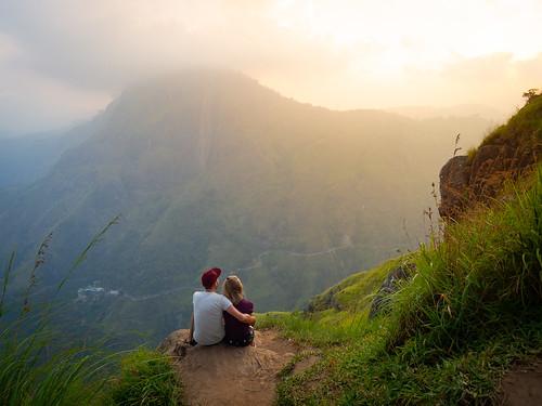 m43 olympus omd omdem10 srilanka ella travel traveling worldtravel backpacking asia southeastasia sunset love littleadamspeak peak hike mountain view trek
