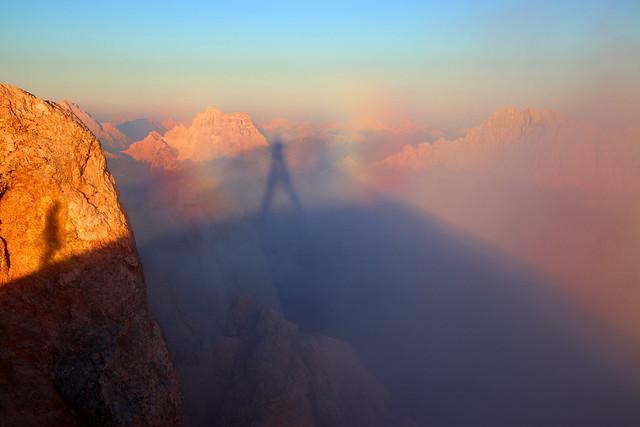 Brocken Spectre - Punta Penia / Marmolada - Trentino-Alto Adige - Italia [Explored #157]