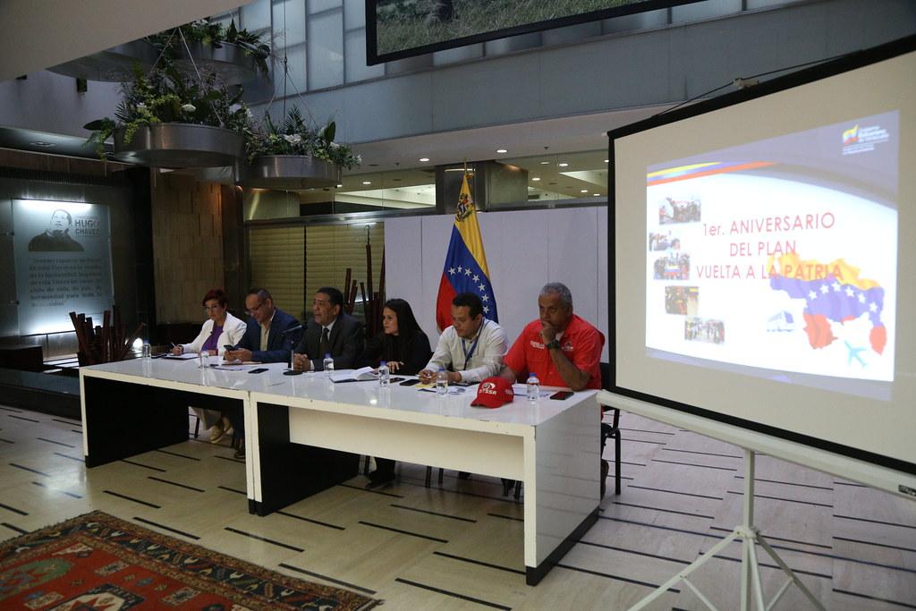 1er Aniversario de Vuelta a la Patria