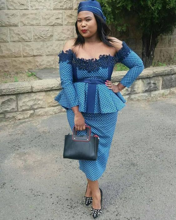 Shweshwe Dresses Styles For Women To Rock