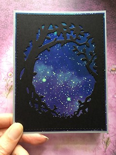Spooky forest Halloween card | by jo.blackford
