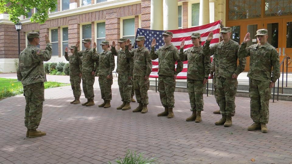 EWU ROTC Contracting Ceremony 2019