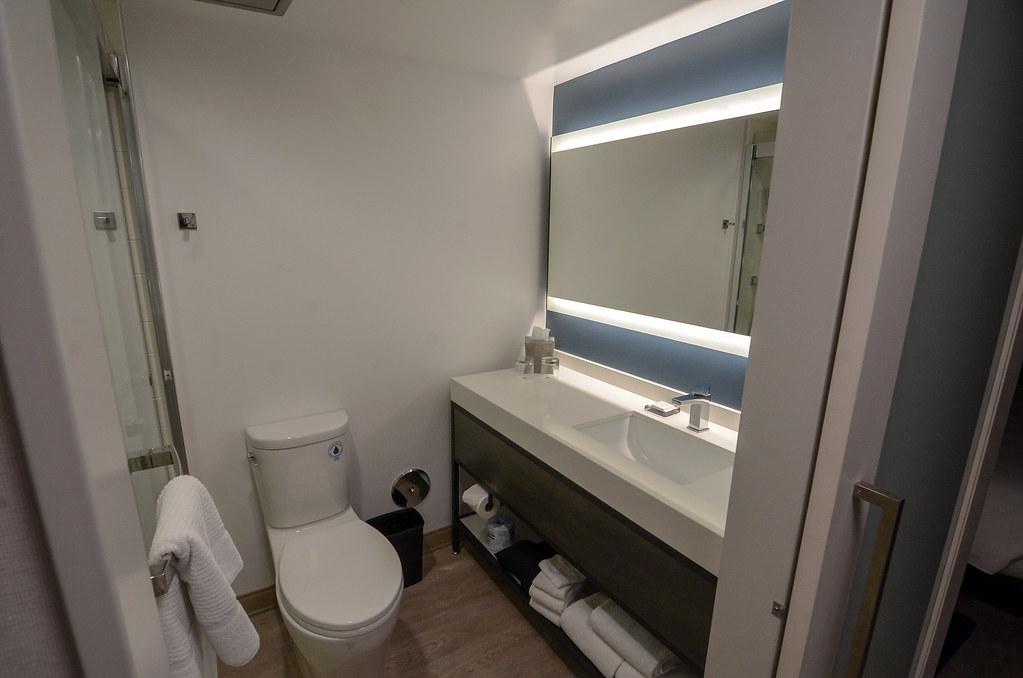 Anaheim Marriott bathroom