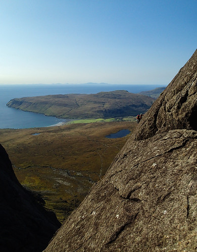 Sat, 2019-09-21 15:38 - Hayley on Cioch Nose