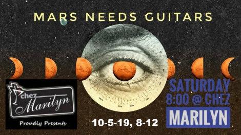 Mars Needs Guitars 10-5-19