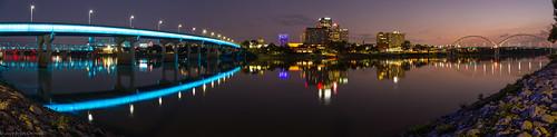 arkansas panoramic downtown littlerock