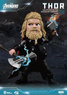 揮舞雙錘、胖索爾威風凜凜駕到! 野獸國 Egg Attack Action 系列《復仇者聯盟:終局之戰》雷神索爾 Thor EAA-103