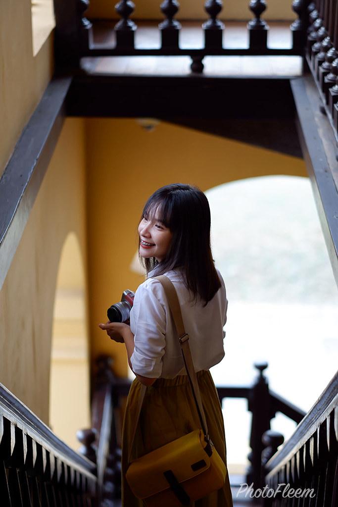 รีวิวภาพถ่าย กล้อง Fujifilm X-A7 เลนส์ 56mm f1.2