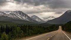 Yukon Territory Canada, Alaska Highway.