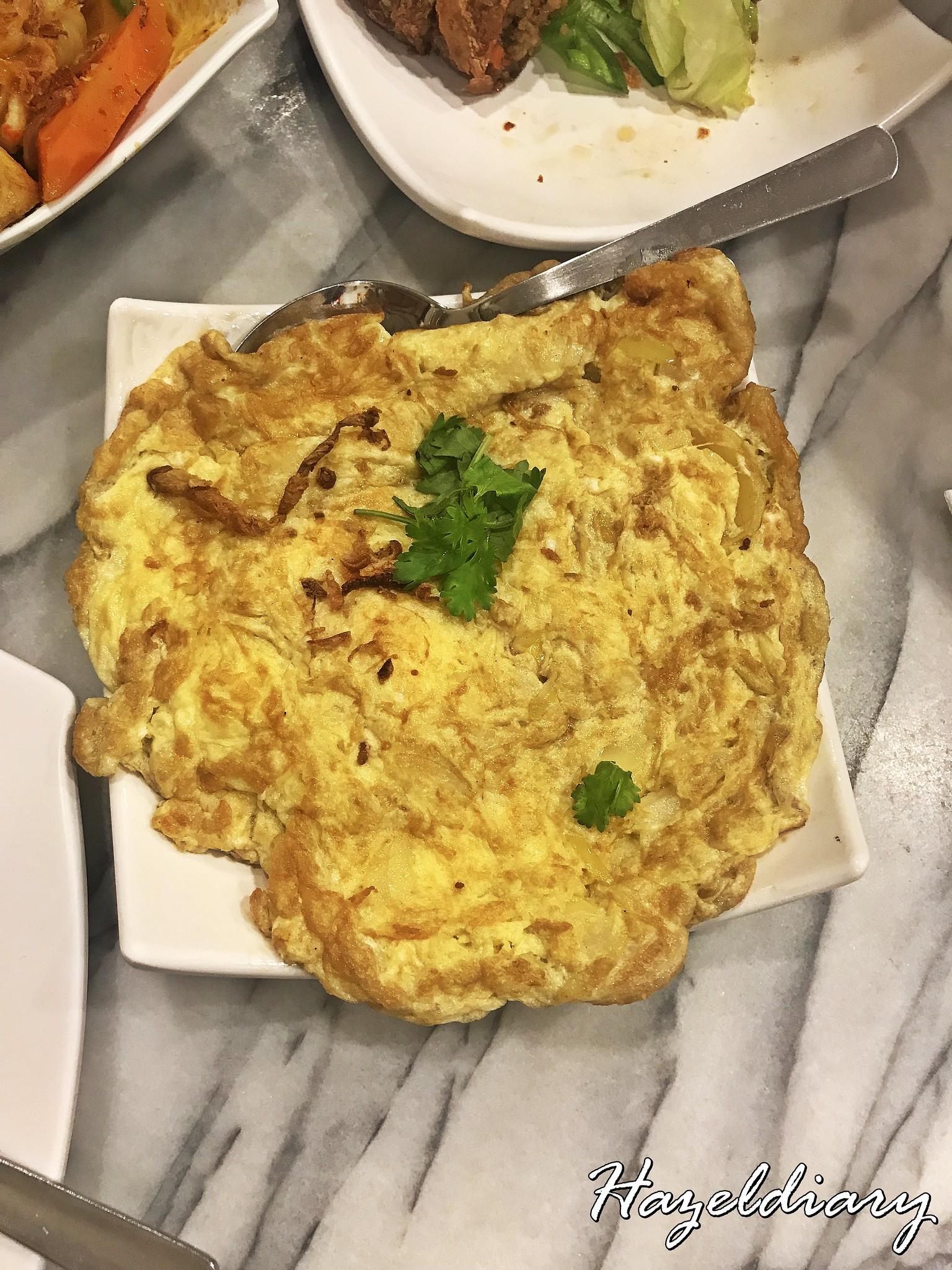 Guan Hoe Soon Restaurant-Peranakan Onion Omelette