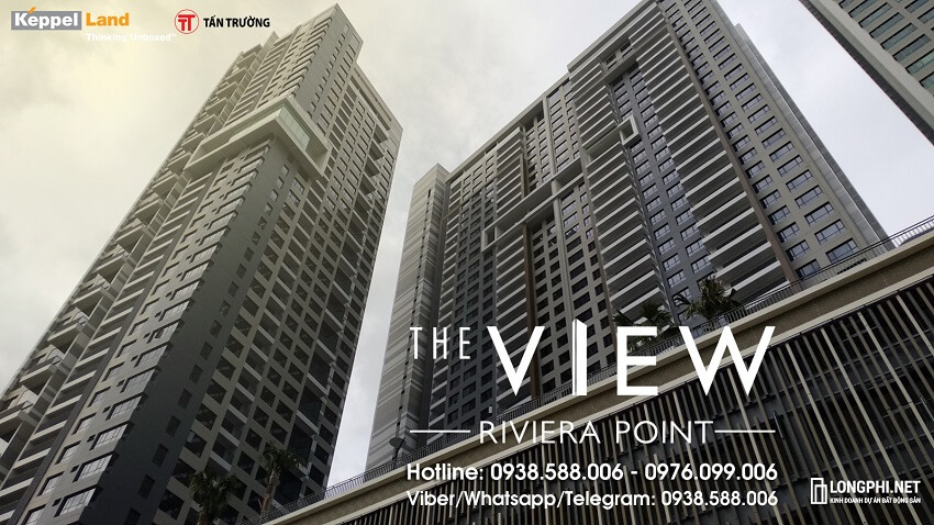 Dự án căn hộ The View Riviera Point q7 Keppel Land