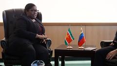 Venezuela y Surinam fortalecen relaciones de cooperación y hermandad