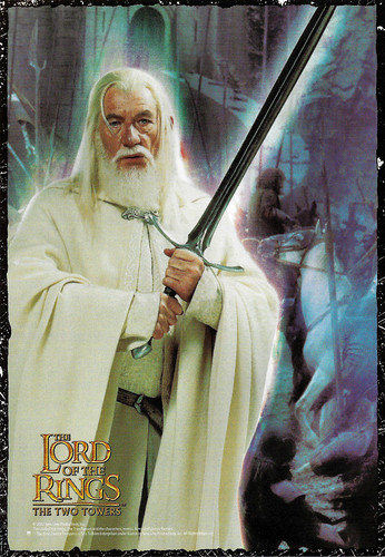 Ian McKellen in Lord of the Rings - The Two Towers (2002)