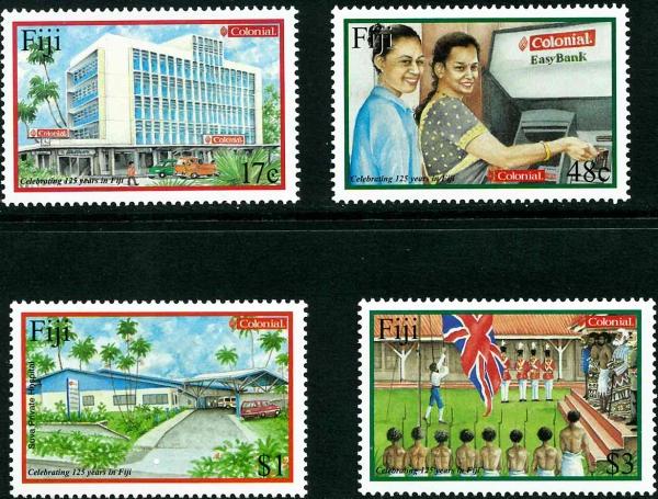 Známky Fiji, 125 rokov Fiji MINT