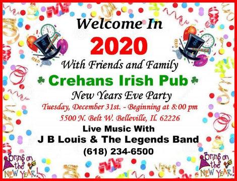 Crehan's NYE