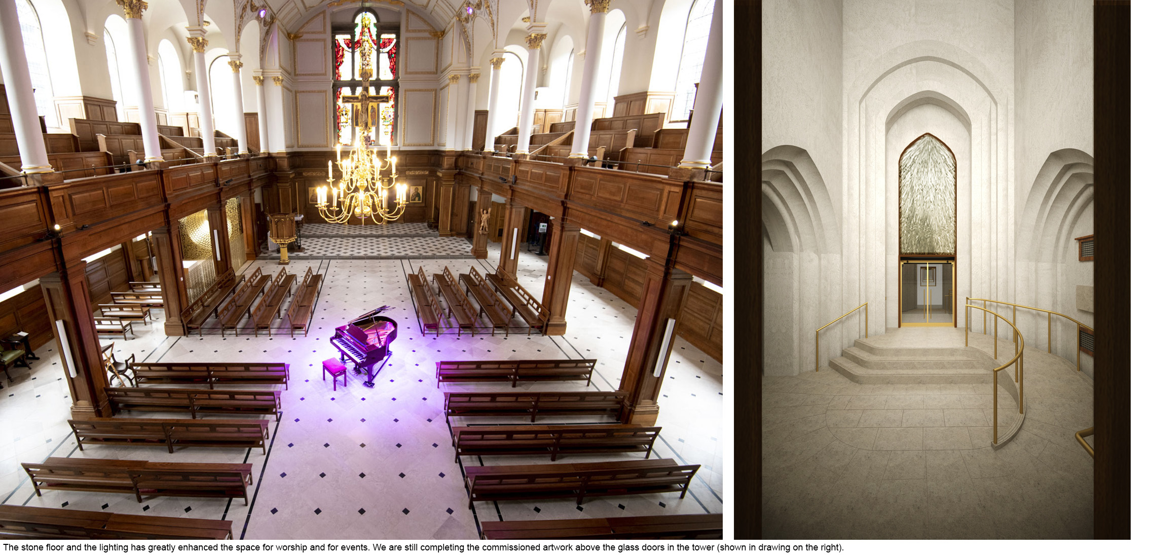 Presidents' Award Shortlist 2019 - St Andrew's church, Holborn - Overall Space and Tower