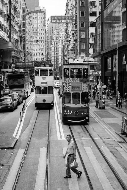 The Streets in Black and White, Hong Kong