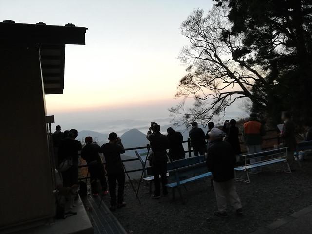 雲海(鬼嶽稲荷神社(大江山)からの眺望)