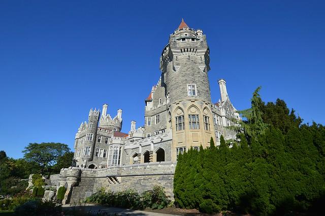 Toronto's Camelot Castle .... Casa Loma .... 1 Austin Terrace .... Toronto, Ontario