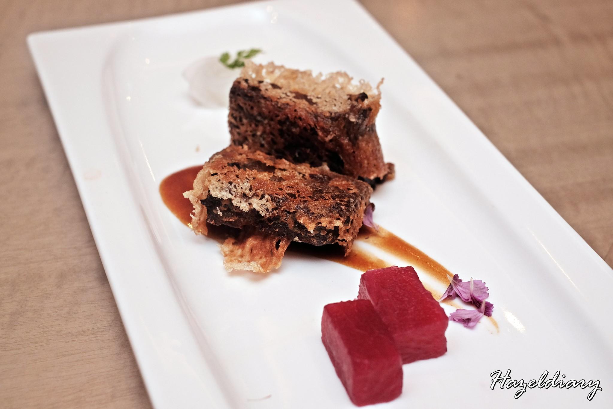 Jiang Nan Chun-Four Seasons Hotel Singapore- Winter Menu -Braised Beef Cheek