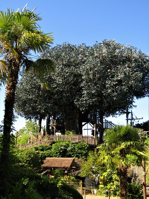 Disney's Swiss Family Robinson Tree House in Paris