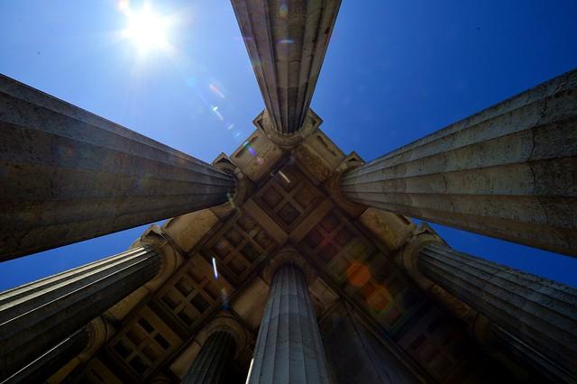 Donaustauf - Walhalla Columns