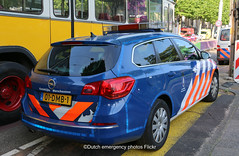 Dutch military police Opel Astra