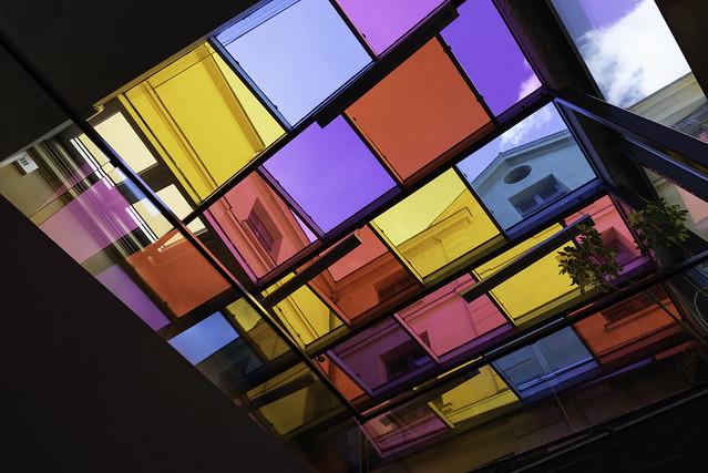toit en couleurs