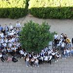 Sex, 27/09/2019 - 10:23 - A comunidade do Politécnico de Lisboa assinalou, no dia 27 de setembro de 2019, em vários locais, um manifesto em silêncio pelo clima. Entre as 11h00 às 11h11, vários estudantes, professores e não-docentes, vestidos de branco e preto, assinalaram, na Praça da Saúde da ESTeSL, no Campus de Benfica do IPL (ESCS, ESELx e ESML) e, no Auditório A do ISEL, um protesto de silêncio pela mudança imediata de comportamentos face às alterações climáticas e as suas consequências. Os '11' minutos simbolizam os anos que restam para limitar o aumento da temperatura global em 1.5º C e assim evitar grandes desastres ambientais.