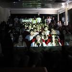 Sex, 27/09/2019 - 10:16 - A comunidade do Politécnico de Lisboa assinalou, no dia 27 de setembro de 2019, em vários locais, um manifesto em silêncio pelo clima. Entre as 11h00 às 11h11, vários estudantes, professores e não-docentes, vestidos de branco e preto, assinalaram, na Praça da Saúde da ESTeSL, no Campus de Benfica do IPL (ESCS, ESELx e ESML) e, no Auditório A do ISEL, um protesto de silêncio pela mudança imediata de comportamentos face às alterações climáticas e as suas consequências. Os '11' minutos simbolizam os anos que restam para limitar o aumento da temperatura global em 1.5º C e assim evitar grandes desastres ambientais.