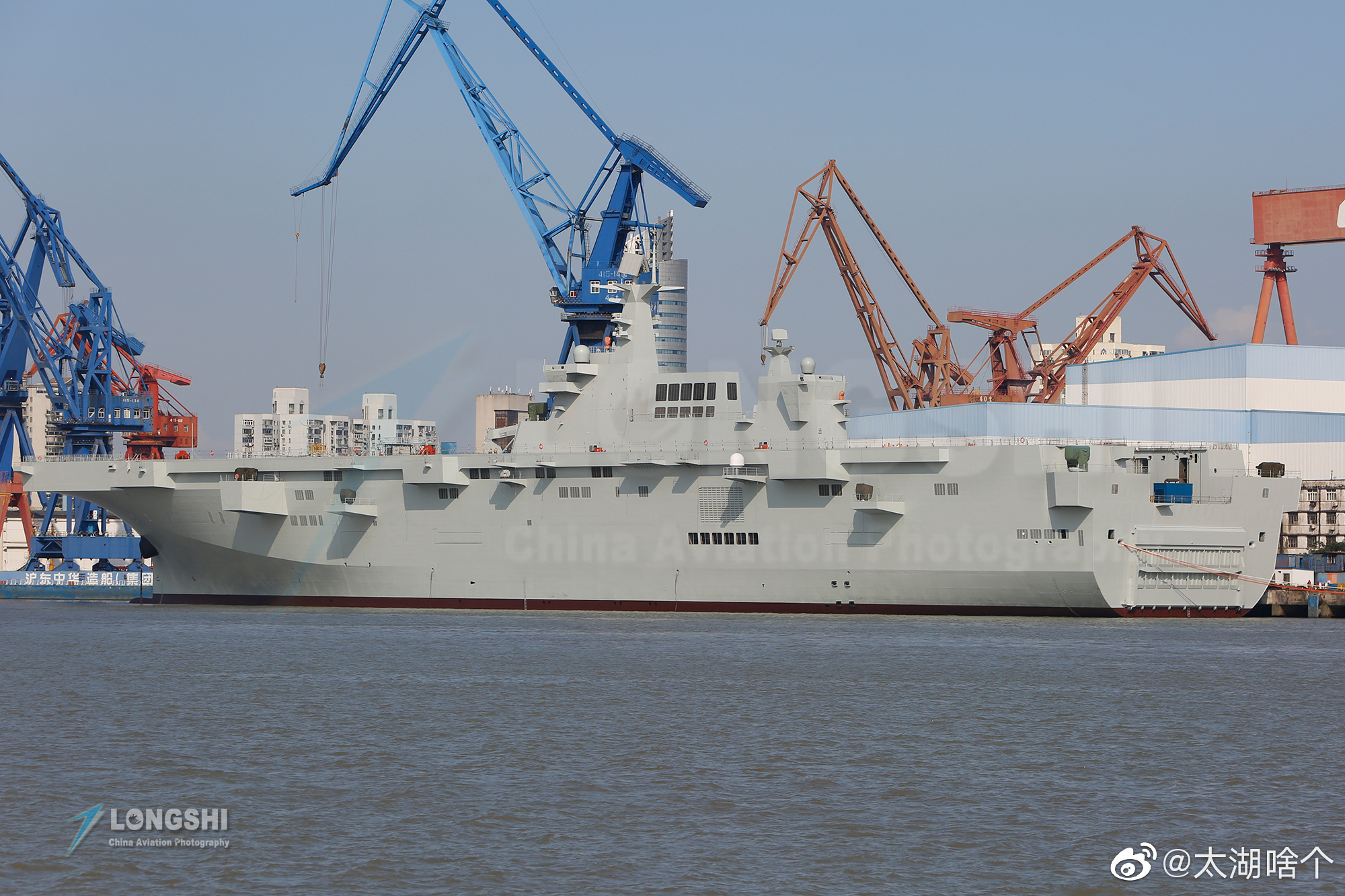 Type 075 landing helicopter dock (LHD) 48803346996_c06c3f6e85_o