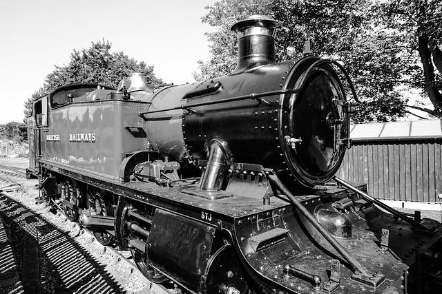 British Railways Steam Engine