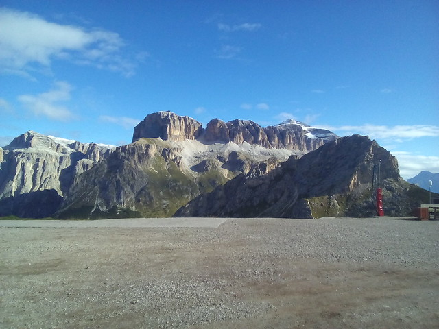 449 GRUPPO SELLA-PORDOI DAL BELVEDERE DI CANAZEI DOLOMITI DI FASSA ITALIA TRENTINO ALTO adige - sud tirol