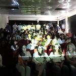 Sex, 27/09/2019 - 10:15 - A comunidade do Politécnico de Lisboa assinalou, no dia 27 de setembro de 2019, em vários locais, um manifesto em silêncio pelo clima. Entre as 11h00 às 11h11, vários estudantes, professores e não-docentes, vestidos de branco e preto, assinalaram, na Praça da Saúde da ESTeSL, no Campus de Benfica do IPL (ESCS, ESELx e ESML) e, no Auditório A do ISEL, um protesto de silêncio pela mudança imediata de comportamentos face às alterações climáticas e as suas consequências. Os '11' minutos simbolizam os anos que restam para limitar o aumento da temperatura global em 1.5º C e assim evitar grandes desastres ambientais.