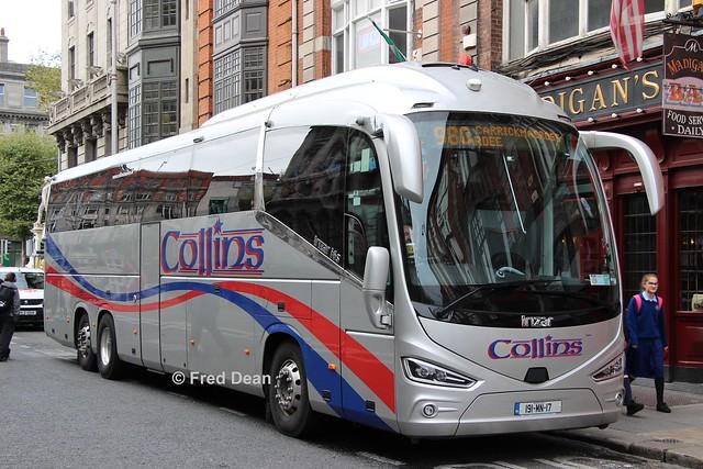 Collins Coaches Ltd (191MN17).