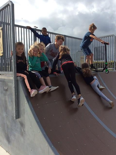 Plezier op het skatepark