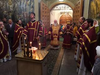 27.09.2019 | Литургия в Иверском монастыре