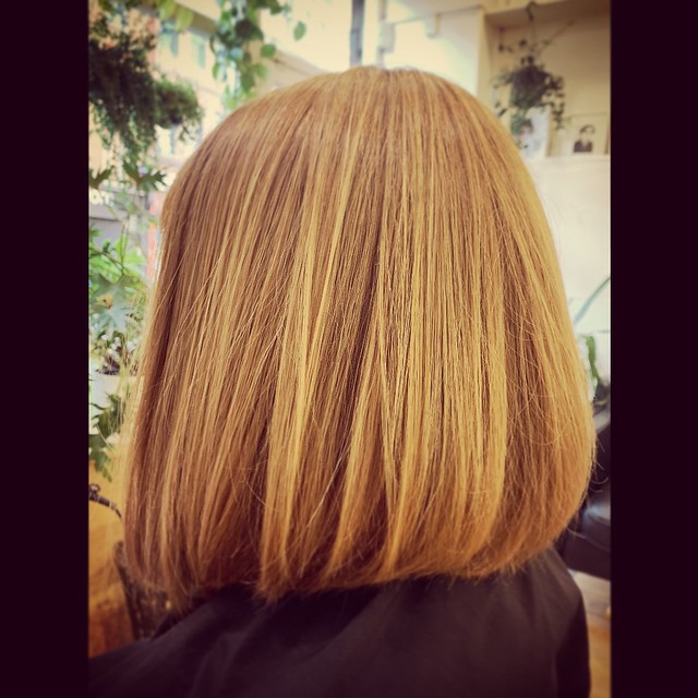 #onelength #bob #alinebob #haircut #hirohirata #tokitohair #shoreditch #london #japanese #hairdresser