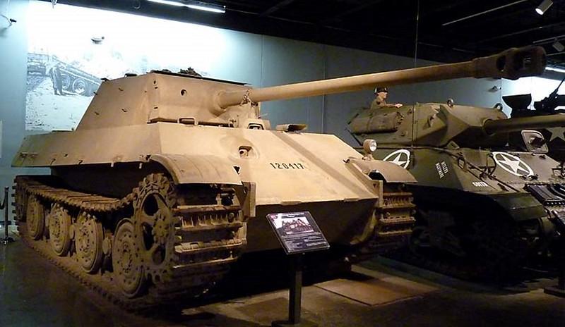 Panzer Mk V Panther Réservoir 2