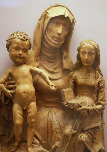 Tilman Riemenschneider und Werkstatt, Anna Selbdritt - Virgin and Child with Saint Anne