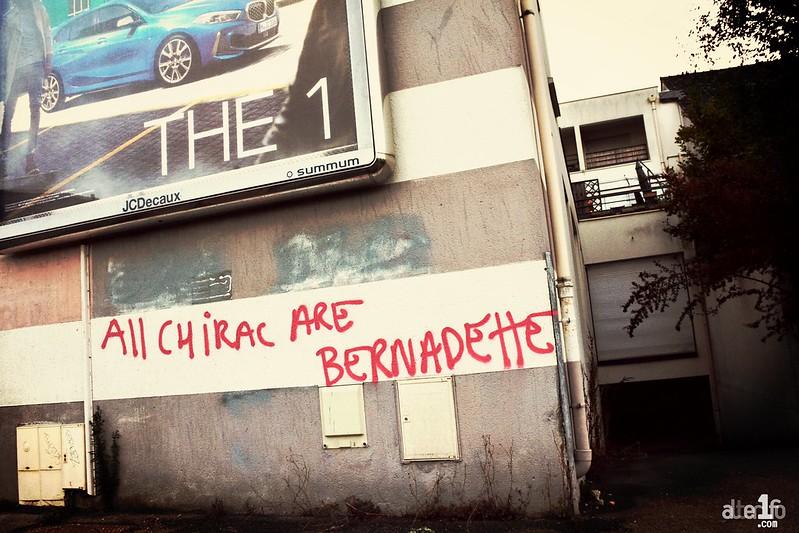 [27 Septembre 2019] – Un jour, une photo : « All Chirac Are Bernadette... »