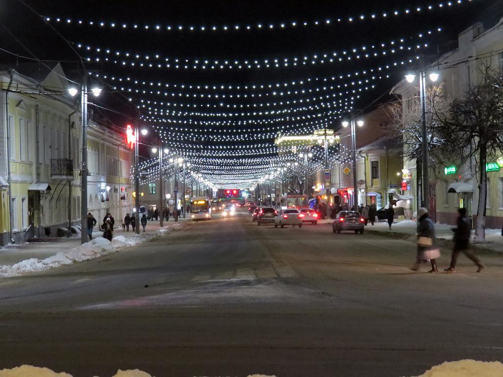 Новогодняя улица