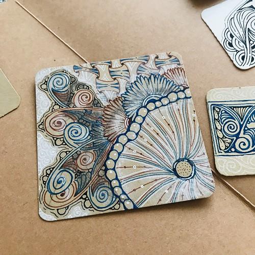 Wingfrond - A new tangle pattern