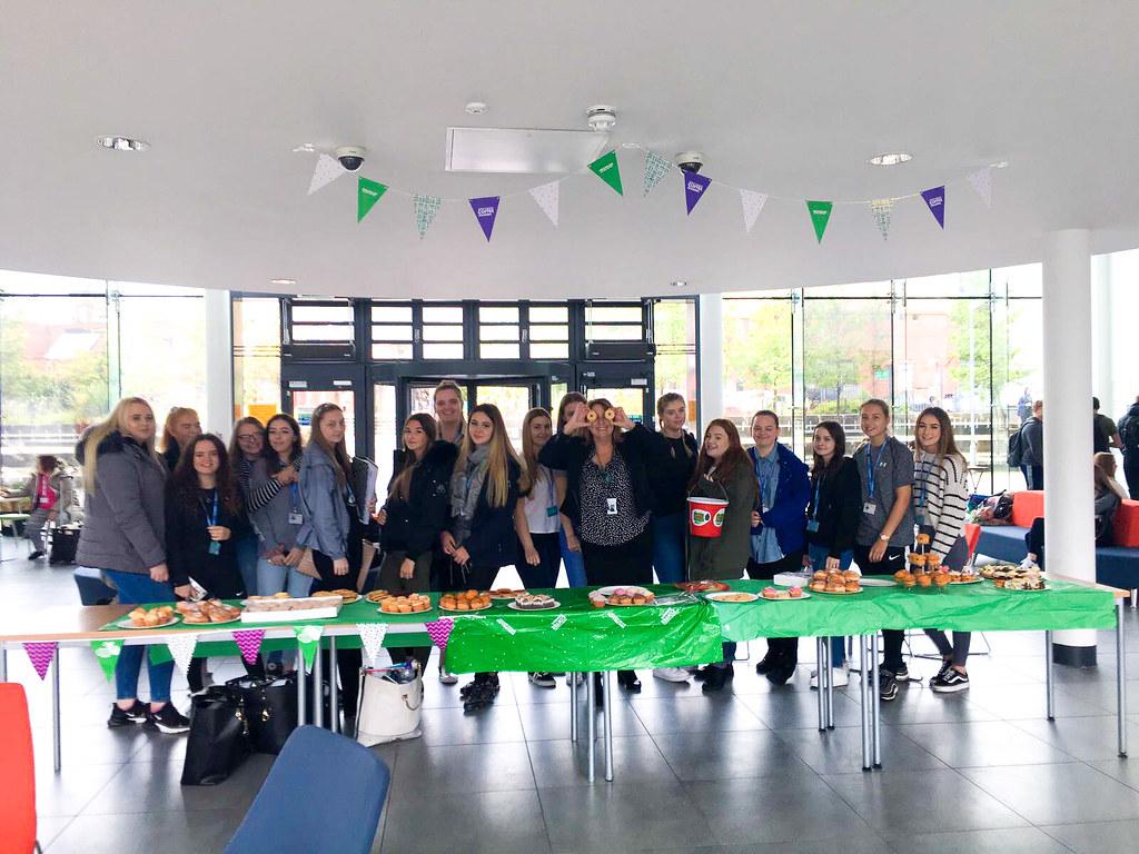 Students raise money for Macmillan