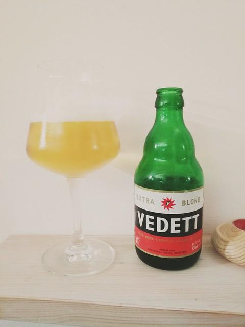 Vedett / Belgian extra blond beer