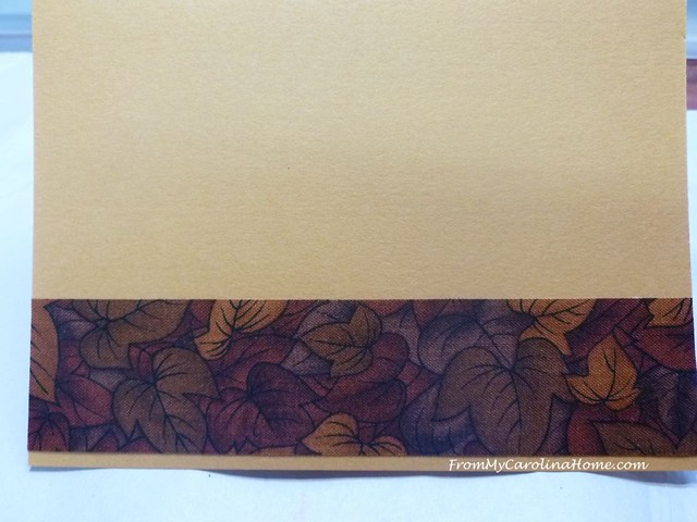 Pumpkin Spice Card at FromMyCarolinaHome.com