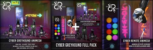 [Rezz Room] CYBER GREYHOUND  and REMOTE Animesh