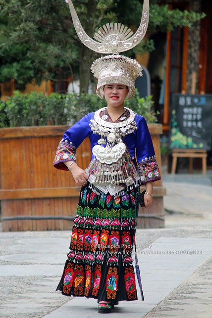 Kaili, Xijiang Miao village, Miao lady