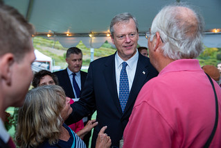 Governor Baker, local officials break ground on Maples Crossing athletic complex | by Office of Governor Baker